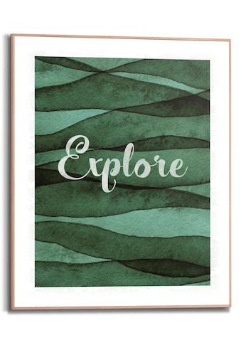 Reinders! Bild mit Rahmen »Explore«, (1 St.) kaufen