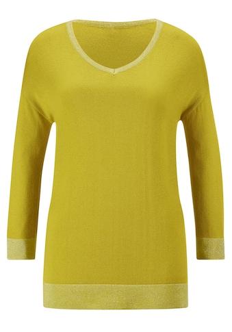 creation L V-Ausschnitt-Pullover »Viskose-Seiden-Pullover« kaufen