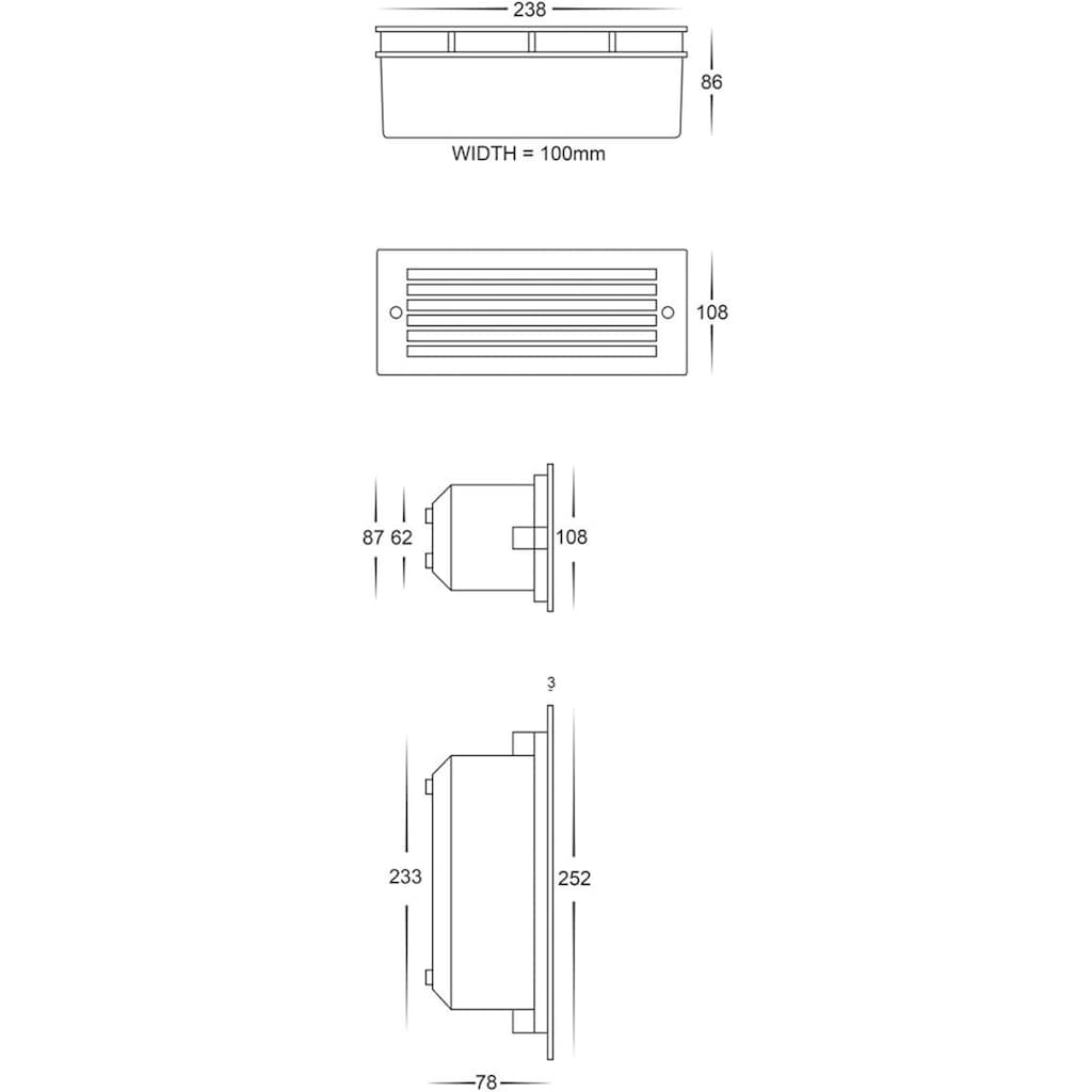 Havit Lighting LED Einbauleuchte »BATA«, 1 St.