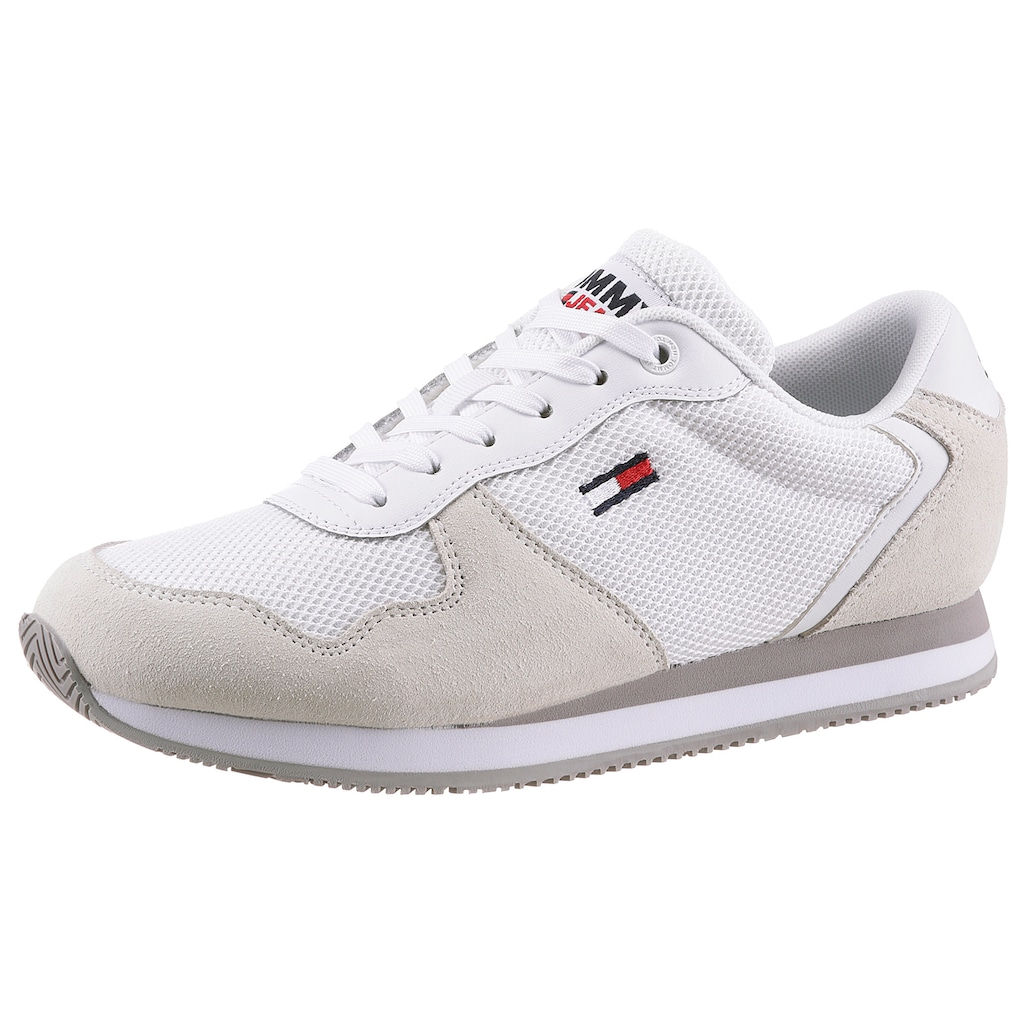 TOMMY JEANS Keilsneaker »TOMMY JEANS MONO SNEAKER«, im modischen Materialmix