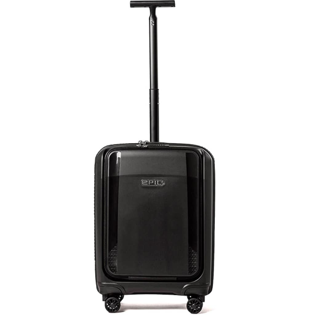 EPIC Hartschalen-Trolley »Phantom SL Fastback, 55 cm, phantomBLACK«, 4 Rollen