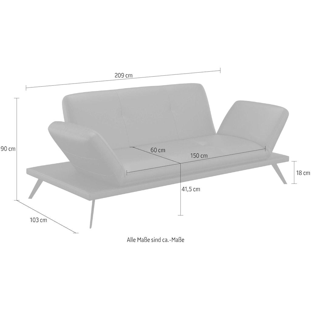 machalke® 3-Sitzer »butterfly«