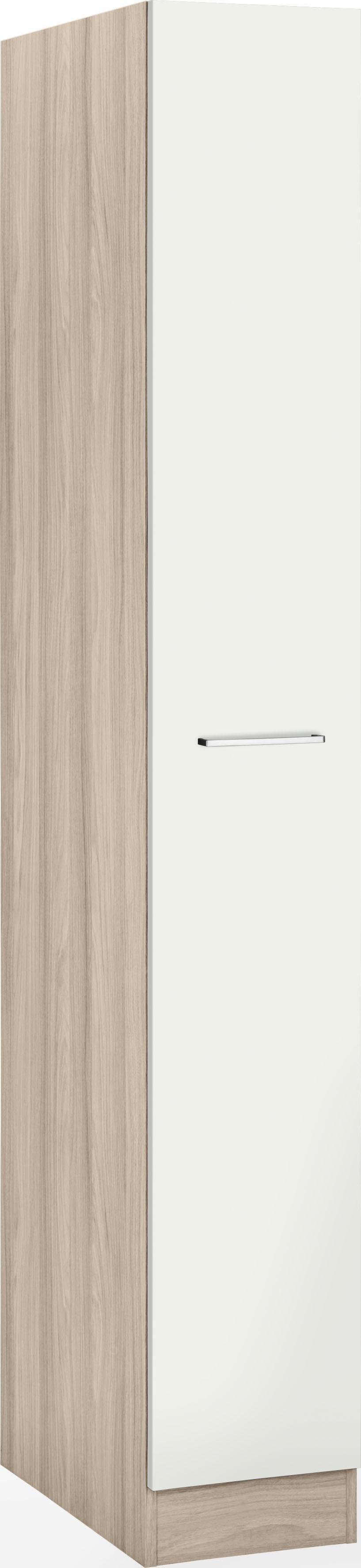 WIHO Küchen Apothekerschrank Zell | Küche und Esszimmer > Küchenschränke > Apothekerschränke | Weiß | Melamin | Wiho Küchen