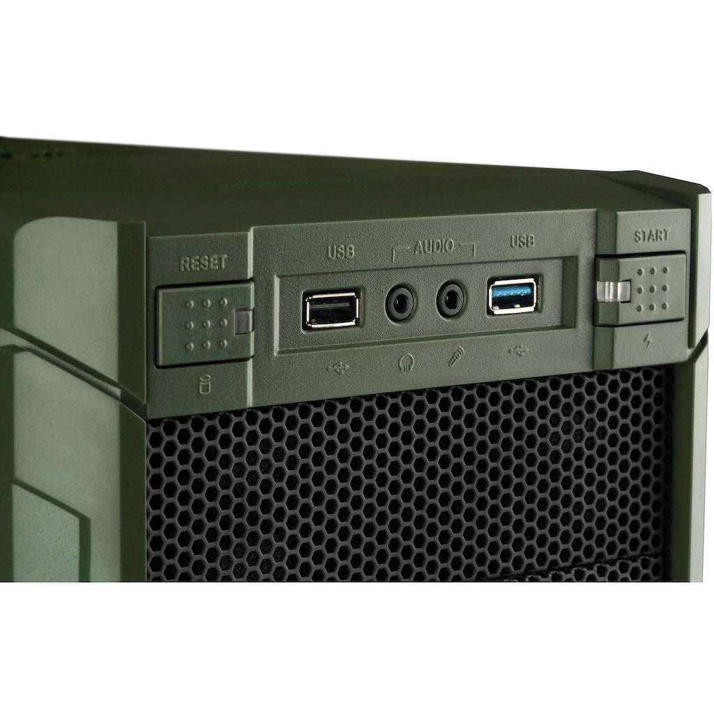 Hyrican »Military SET1878« Gaming-PC-Komplettsystem (AMD, Ryzen 5, GeForce)