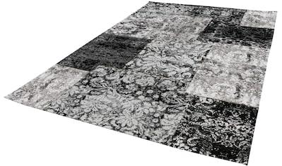 LUXOR living Teppich »Antique 100«, rechteckig, 10 mm Höhe, Patchwork Design,... kaufen
