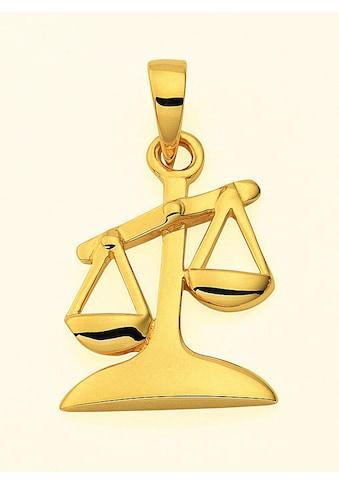 Adelia´s Anhänger Set »585 Gold Sternzeichen Anhänger Waage«, 585 Gold Goldschmuck für... kaufen