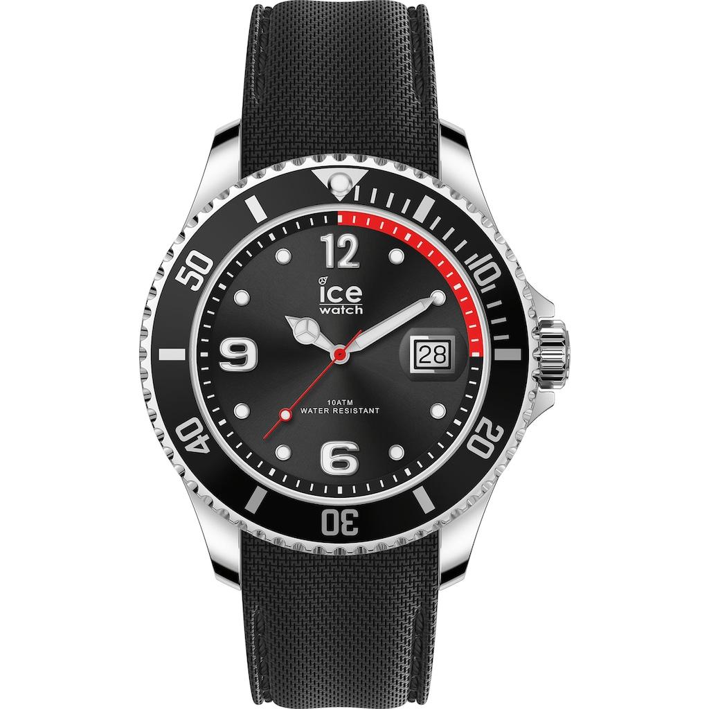 ice-watch Quarzuhr »Gift Box - ICE COFFRET NEW YORK 2 - Black, 18691«, (Set, 2 tlg., mit zusätzlichem Armband)