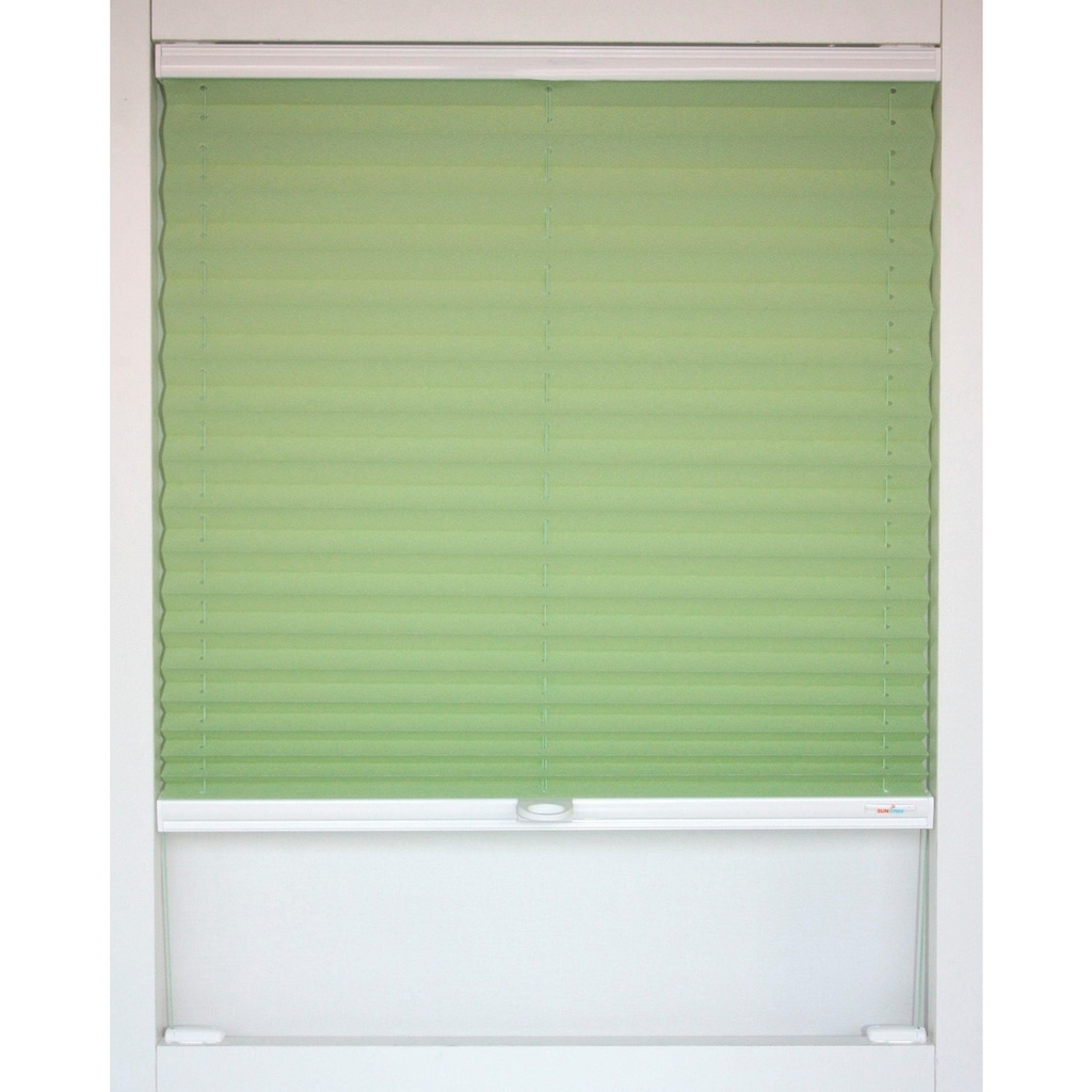 sunlines Dachfensterplissee nach Maß »Medoc«, verdunkelnd, energiesparend, mit Bohren, verspannt
