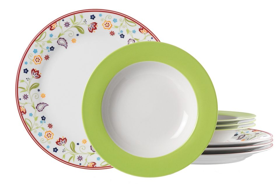 Ritzenhoff & Breker Tafelservice, Porzellan,  SHANTI DOPPIO  (8-teilig) Preisvergleich
