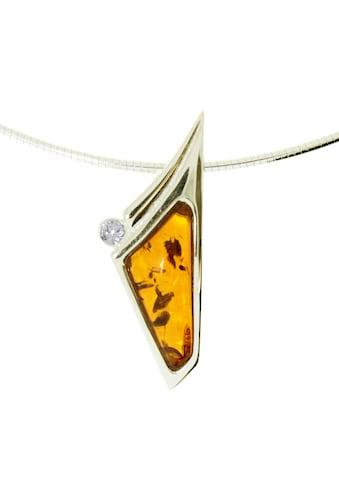 OSTSEE-SCHMUCK Halsreif »- Gleiter-Agneta - Silber 925/000, vergoldet -«, (2 tlg.) kaufen