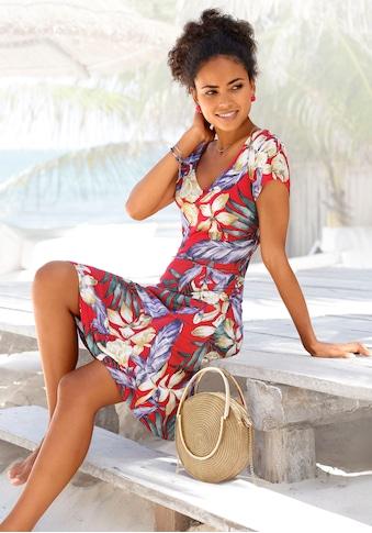 LASCANA Sommerkleid, mit V-Ausschnitt kaufen