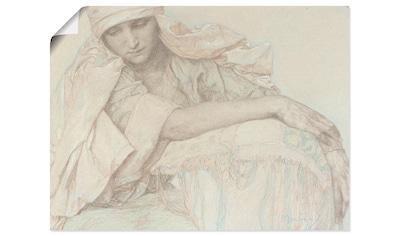 Artland Wandbild »Studie einer jungen Frau, 1929.« kaufen