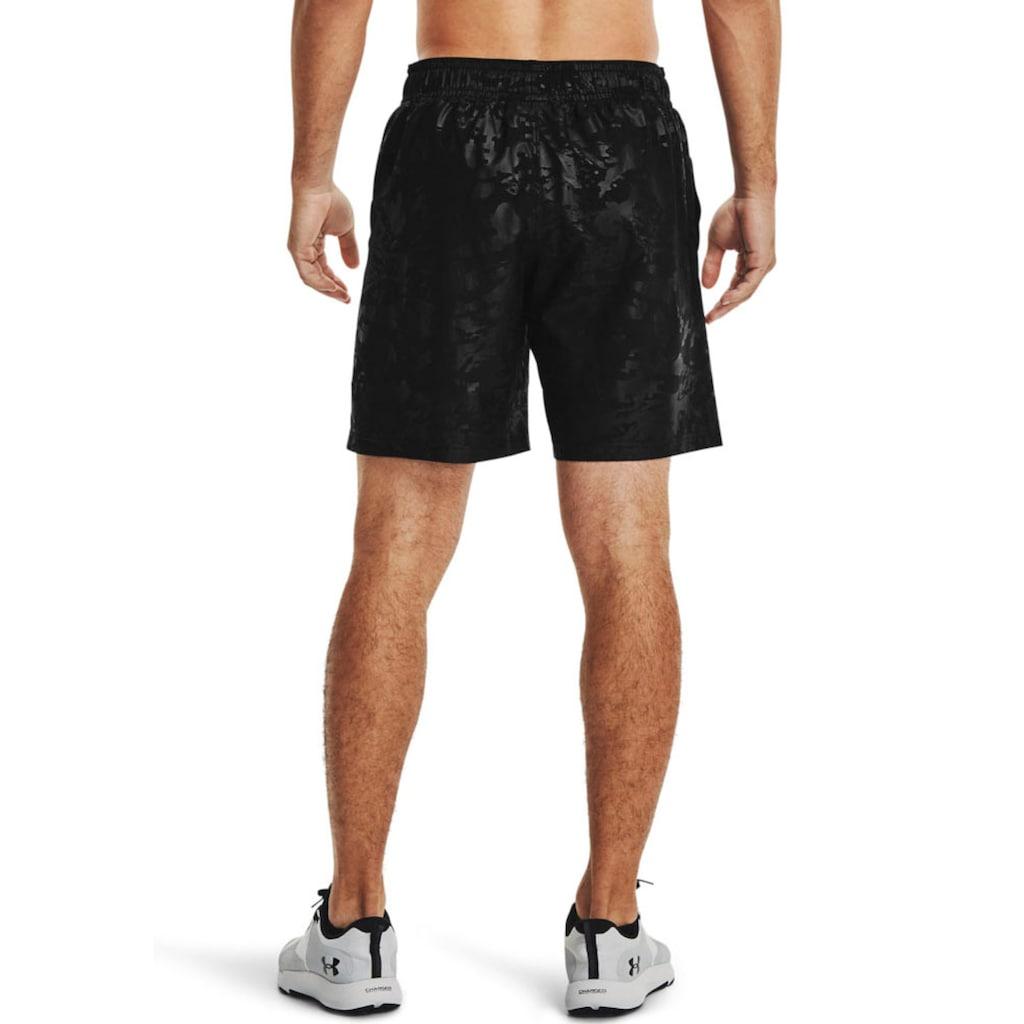 Under Armour® Shorts »UA Woven Emboss Shorts«