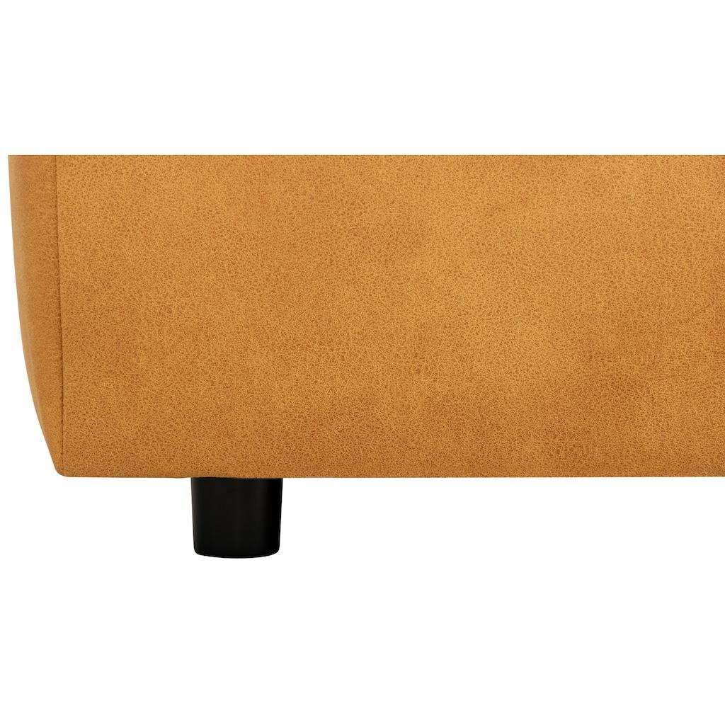 Home affaire Polsterhocker »Riveo Luxus«, mit besonders hochwertiger Polsterung für bis zu 140 kg pro Sitzfläche