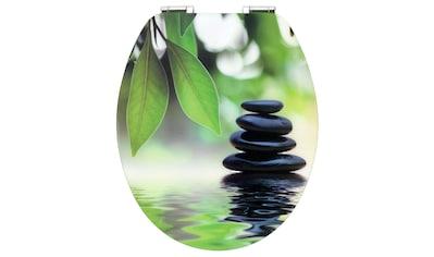 CORNAT WC-Sitz »Black Stone«, Mit Absenkautomatik kaufen