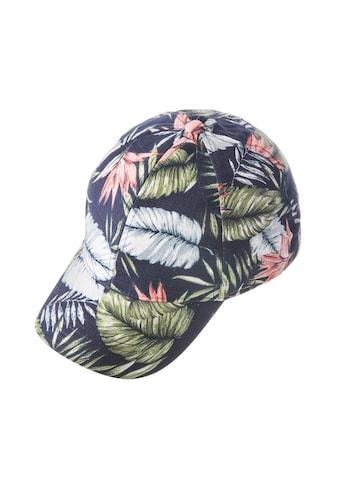 Chaplino Baseball Cap, mit tollem Blätter-Print kaufen