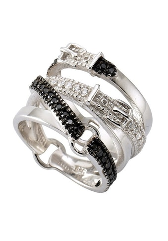 Firetti Silberring »Gürtel«, mit Zirkonia kaufen