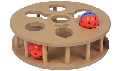 HEIM Tier-Intelligenzspielzeug »Cat IQ Trainingsspiel«, Holz-Kunststoff, ØxH: 23,5x6,7 cm kaufen