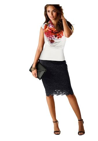 Alessa W. Shirt mit platziertem Blütenprint kaufen
