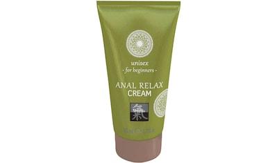 Shiatsu Intimcreme, Anal Relax Cream kaufen
