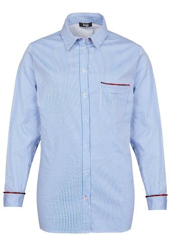 FRAPP Lässige Bluse mit Allover - Streifen kaufen