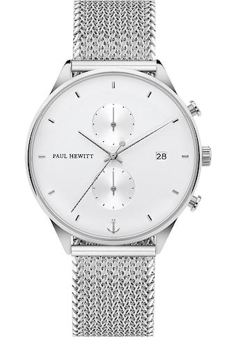 PAUL HEWITT Chronograph »Chrono Line, PH-C-S-W-50S« kaufen