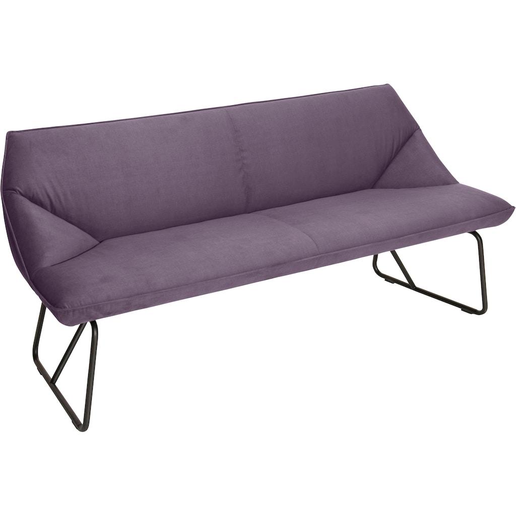 TOM TAILOR Sitzbank »CUSHION«, mit schmalem Metallgestell, Breite 184 cm