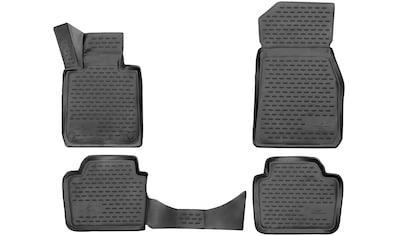 WALSER Passform-Fußmatten »XTR«, BMW, 3, Stufenheck, (4 St., 2 Vordermatten, 2... kaufen