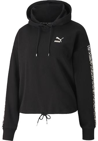 PUMA Kapuzensweatshirt »Classics Cropped Hoody AOP« kaufen