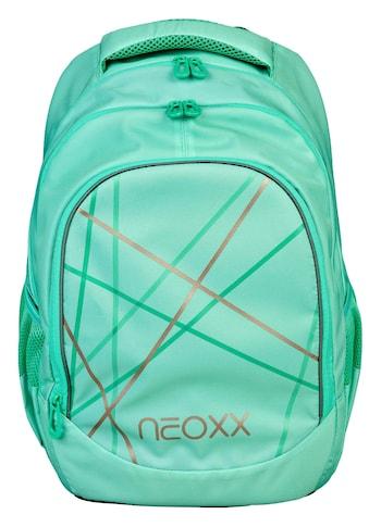 neoxx Schulrucksack »Fly, Mint to be«, Reflektionsnaht kaufen