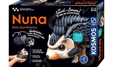 Kosmos Modellbausatz »Nuna - Dein Igel-Roboter«, mit Soundsensor kaufen