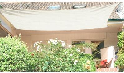 FLORACORD Sonnensegel , BxL: 500x400 cm, cremeweiß kaufen