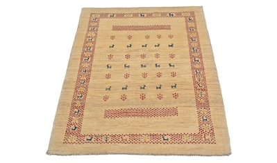 morgenland Wollteppich »Loribaft Teppich handgeknüpft«, rechteckig, 12 mm Höhe kaufen
