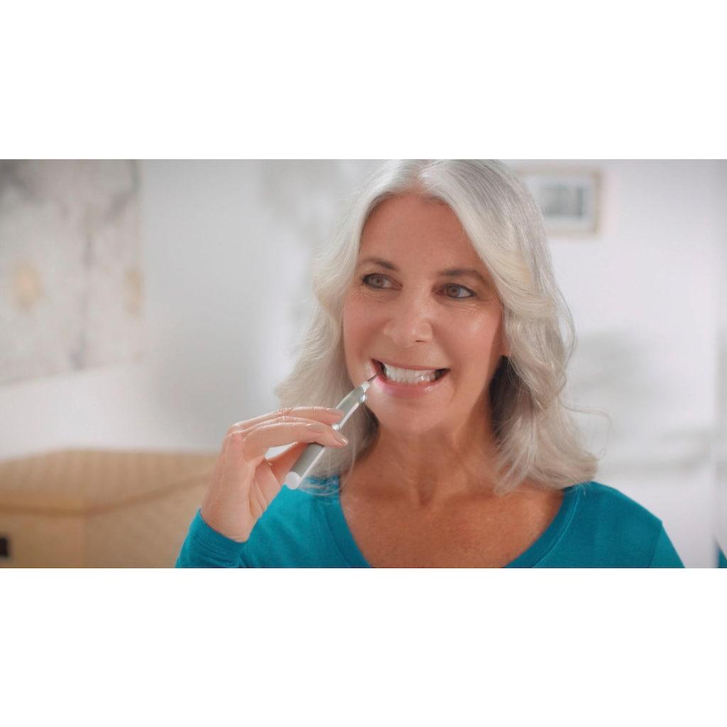 MediaShop Zahnpflege-Set »DentaPic Sonic«, intensive Schallreinigung mit 3000 Vibrationen/Minute