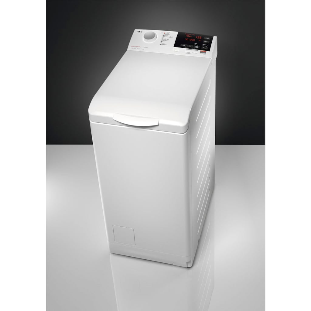 AEG Waschmaschine Toplader »L6TB26TL«, 6000, L6TB26TL, ProSense - Mengenautomatik