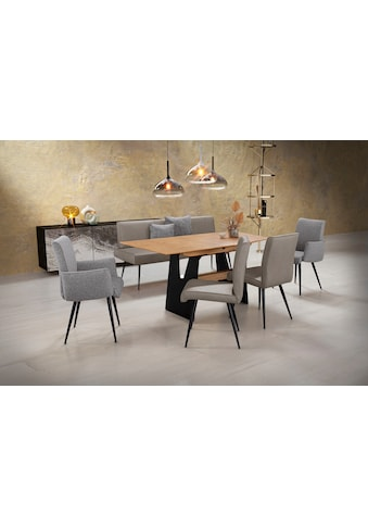 K+W Komfort & Wohnen Essgruppe »Giacomo I«, (6 tlg., Polsterbank, 2 Stühle und 2... kaufen
