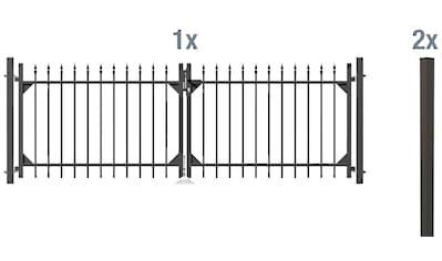 GAH ALBERTS Zaun - Doppeltür »Chaussee«, 100 cm hoch, 301 cm breit kaufen