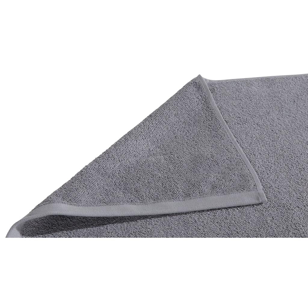 COUCH♥ Badematte »Voll flauschig«, Höhe 4 mm, beidseitig nutzbar, 2-er Set, COUCH Lieblingsstücke