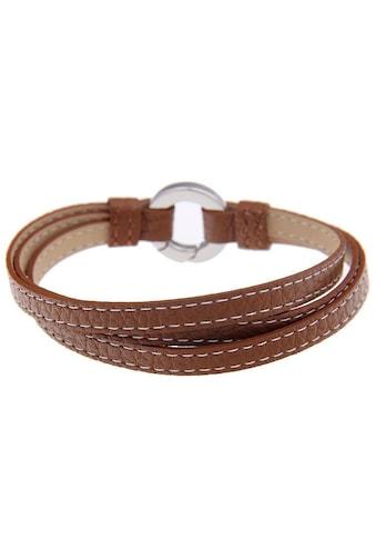 leslii Leder - Armband im Wickel - Look kaufen