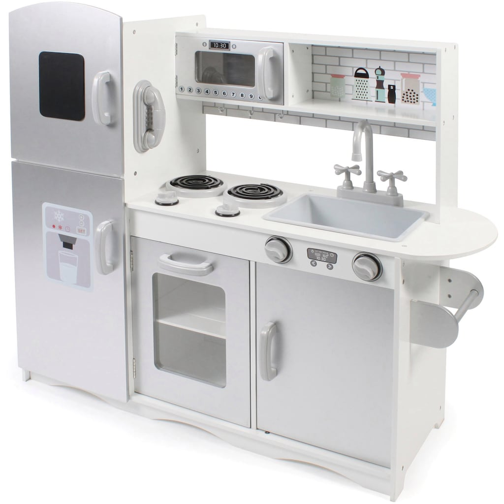 CHIC2000 Spielküche »silber -weiß«