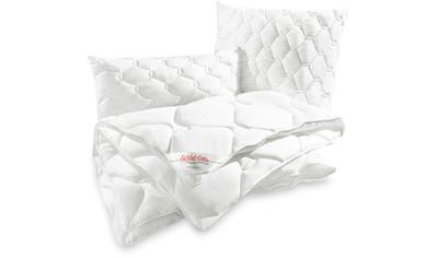 Schlaf-Gut Microfaserkissen »TENCEL™«, Füllung: versteppt mit Lyocell & Polyester und... kaufen