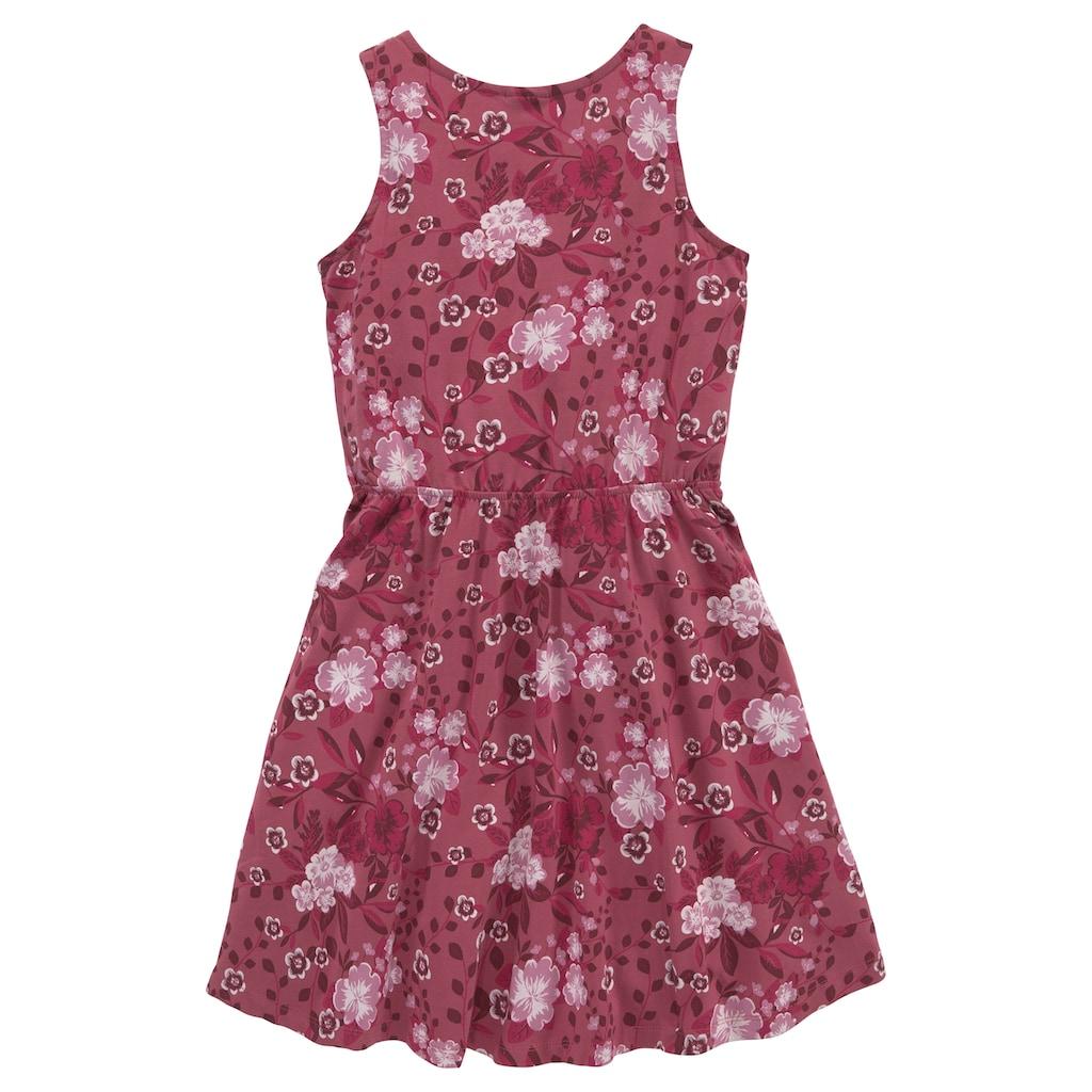 KIDSWORLD Jerseykleid, mit süßen Blümchen