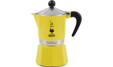 BIALETTI Espressokocher »Rainbow«, Aluminium kaufen