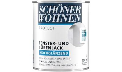 SCHÖNER WOHNEN-Kollektion Lack »Protect Fenster- und Türenlack«, hochglänzend, 750 ml,... kaufen