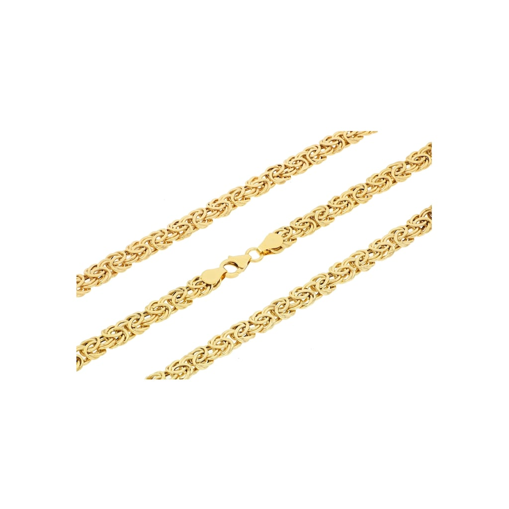 Firetti Goldkette »Glanz, oval, Königskettengliederung«