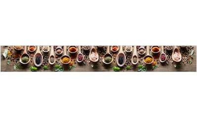 MYSPOTTI Küchenrückwand »mySPOTTIfixy Spicy Kitchen«, selbstklebende und flexible Küchenrückwand - Folie kaufen