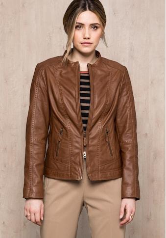 bianca Lederjacke »LUCILLE«, aus 100 % Leder mit Futter unterlegt kaufen