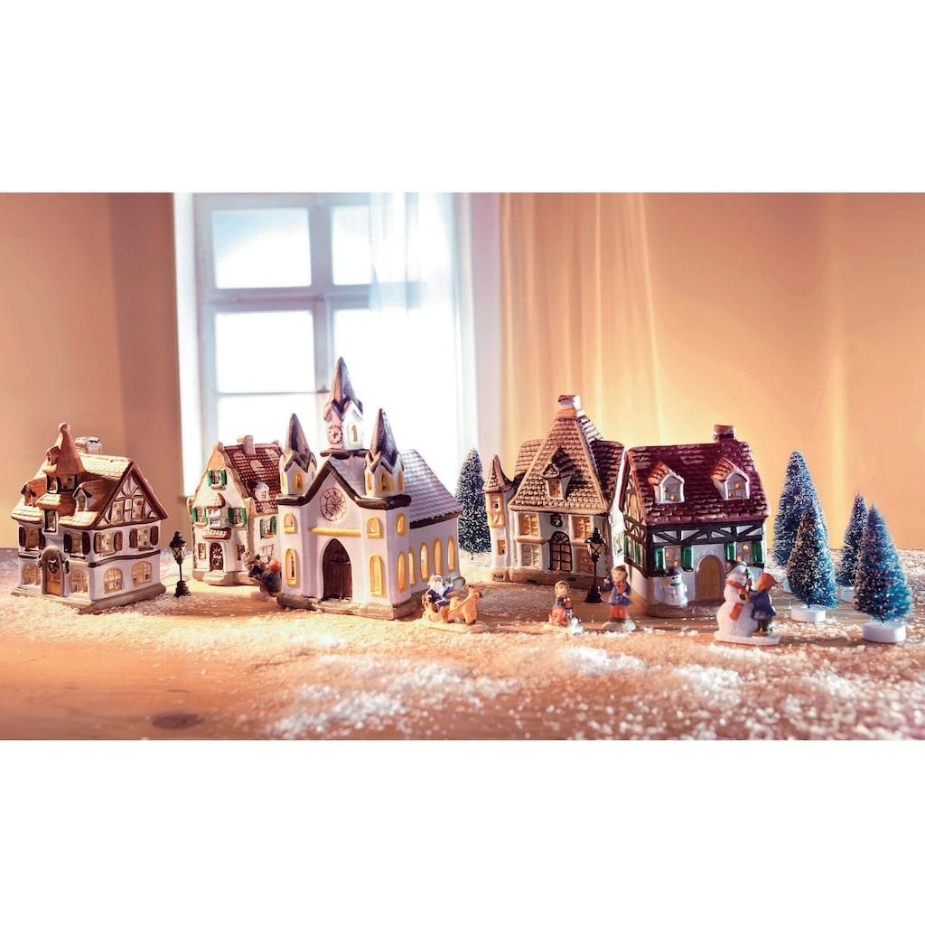 Home affaire Weihnachtsdorf, (17-tlg.)
