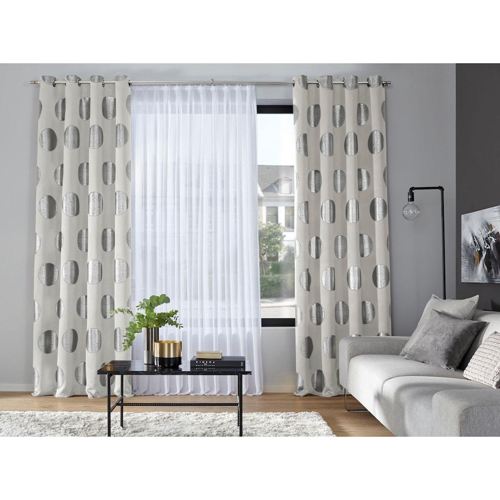my home Verdunkelungsvorhang »Kreise«, Foliendruck