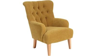 Max Winzer® Chesterfield-Sessel »Bradley«, mit edler Knopfheftung kaufen